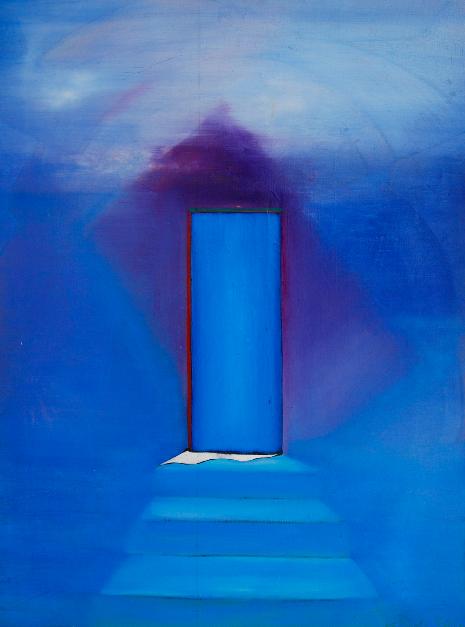 14  Blue Door